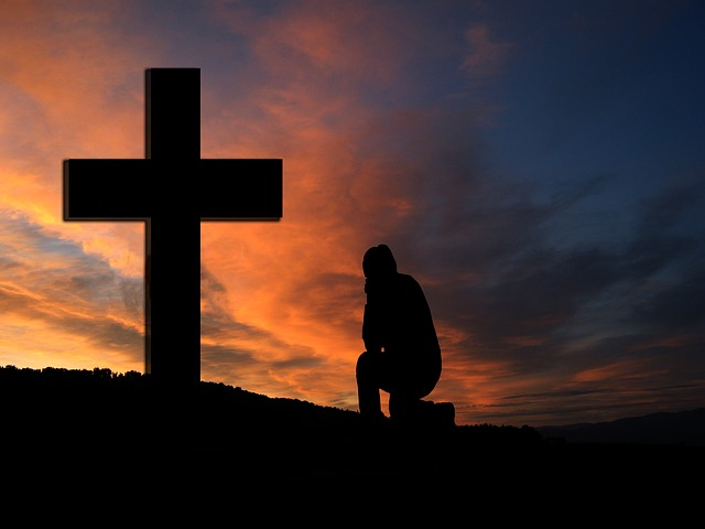 cross-sunset-silhouette-man-kneeling-knee-pray-1